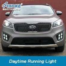 Car style LED DAYTIME LIGHT FOR SORENTO 2015, LED DRL FOR SORENTO FOG LAMP