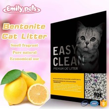 Lemon Scent Pet Sand Economical and Durable Mineral Cat Sand