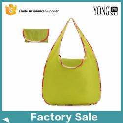 alibaba china supplier nylon folding shopping bag, promotional nylon foldable up gifts bag, personalized nylon gifts tote bags