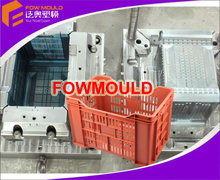 oem plastic crate mould maker plastic fruits crate mould Low cost small