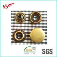 17mm Snap Fastener Metal Buttons Press Stud