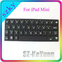 Stick-on Silicone Keyboard for iPad MINI