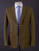 Hot Sale Casual Jacket Two Buttons Track Suit Linen Blend Sports Blazer for Men