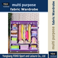 FW150172 fashion home furniture designs for bedroom cloth fabric wardrobe