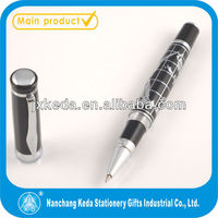 2014 new style metal roller engraved pen world map pen roller gift pen