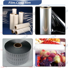Differnt color LLDPE Stretch film