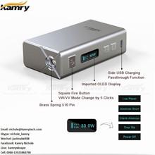 HOT!!! New arrival mini box mod 7-30w mini 30w kamry 30 v2 vaporizers wholesale