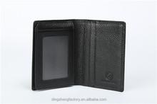 2015 Hot sell Pu Leather Credit Card Holder Card Case For Men Factory OEM Models