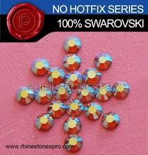 Swarovski Elements Fashionable AB Topaz (203AB) 20ss Flat Back Crystal Rhinestone