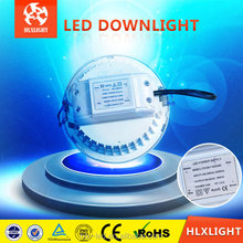 2013 hotsale! Sharp LED COB Downlight 6 W / 10 W / 15 W / 20 W pintura blanco + gris plata