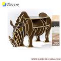 tallado de estilo rústico de madera de decoración para el hogar