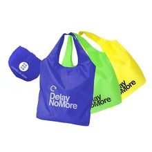 Factory competitive price polyester foldable shopping bag
