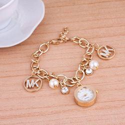 Magazines, Japan and South Korea ladies quartz watch student fashion brand MK bracelet pendant hand watches