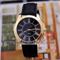 Black color Roman numerals dial herren uhren made in china 2014