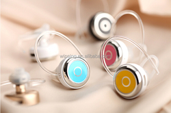 Fashion cheap wireless hidden invisible bluetooth mobile phone earphone