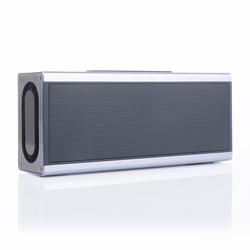 Heavy bass aluminum alloy portable bluetooth speakers subwoofer with micophone speaker
