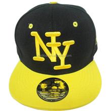 2015 Hot sale street dance Hip-hop cap for children Twill BBOY NY word Baseball caps wholesale