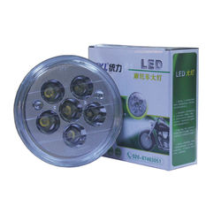 2015 commercial round light bulb led motorcycle headlight