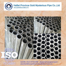 hexagonal outside &round inside Seamless steel tubes by cold drawn