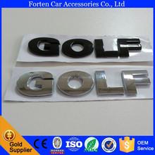 car golf rear emblem sticker for volkswagen VW 3D badge decal