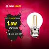 jiaxing haining mini led lights for crafts g45 2w e27 led bulb ceramic housing