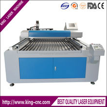 High intention ,high precision mechanic structure design, the data control is stable 1318 King CNC Laser Engraving machine