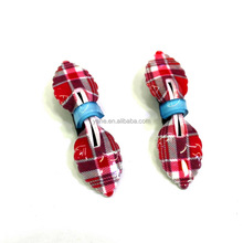 Fashion style cute red butterfly hair clips for teen girls