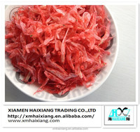 Uncooked live dried dying red small shrimp for sale
