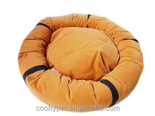 decorative circular flocking dog beds