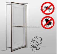 Pop Up Door Screen Instant door insect screen with aluminium frame 90x210cm