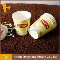 new design printed paper lipton tea cup