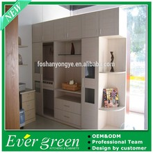 China Ever Green Corner Design Folding Clothes Wardrobe Furniture