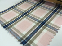 2015 Collection Cotton Candy Pink Blue Stripe Checker Fabric