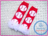 Christmas style Hot sale leg warmer baby leggings wholesale knitting baby leg warmers