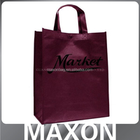 Shenzhen fashion cheap non woven promotional bag logo printed pp non woven bag for packing