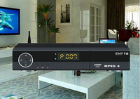 HD Digital MPEG4 Decoding DVB-T2 TV Box with USB Output