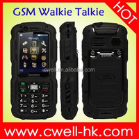 Dual SIM Card Double Cameras Analog TV China mobile phone Discovery A12i IP67 Waterproof Walkie Talkie Rugged Phone mobile