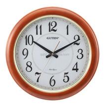 quartz analog wooden pendulum wall Clock GD921-1