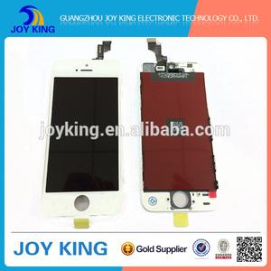 Venta al por mayor móvil de pantalla táctil lcd para iphone5s