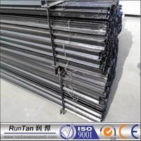 New Zealand Market high quality steel black bitumen painted black Y fence post steel fence post