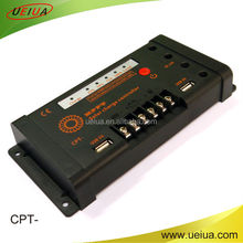 High conversion mppt solar charge controller,10A24Vthe newest version multifuntional solar system controller
