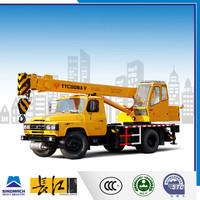 8 ton mini pickup truck, 8 ton lifting hook, 7 ton truck cranes