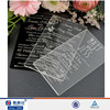 Pop fashionable acrylic wedding invitation covers