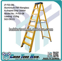 Aluminium werner ladder step Ladder electric attic ladder