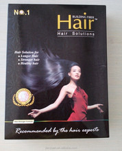 certificated hair building fiber made of pure keratin