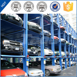pjs 4 post 4 floors simple cheap stack car parking solution
