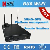 Super bus 4G GPS wifi router as hotspot