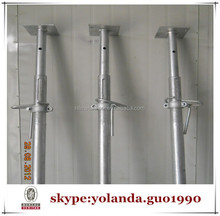 electro galvanized square base shoring prop
