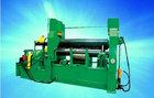 3 rolo W11S pesados hidráulica CNC máquina de rolamento da placa com duplo pitada 50 * 4000 mm