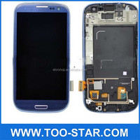 Brand New LCD and digitizer assembly For Samsung galaxy S3 I9300 i747 T999 Blue